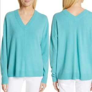 NORDSTROM SIGNATURE 100% Cashmere Knit Pullover XS